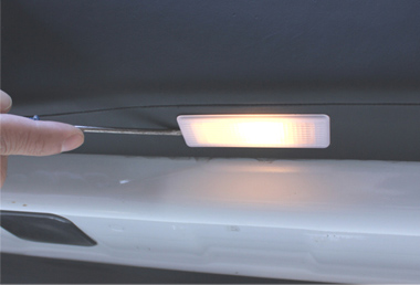 Change car door light procedure 1